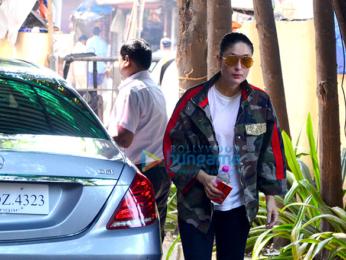 Kareena Kapoor Khan snapped at gym today