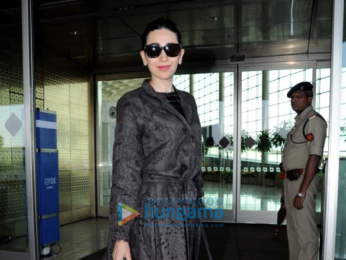 Karisma Kapoor, Sridevi and others snapped at the airport