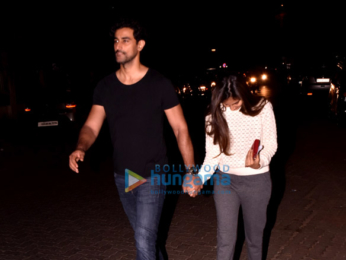 Kunal Kapoor and wife snapped in Juhu
