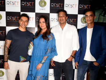 Lara Dutta, Diana Penty and Kunal Kapoor at the launch of RESET gym in Bandra