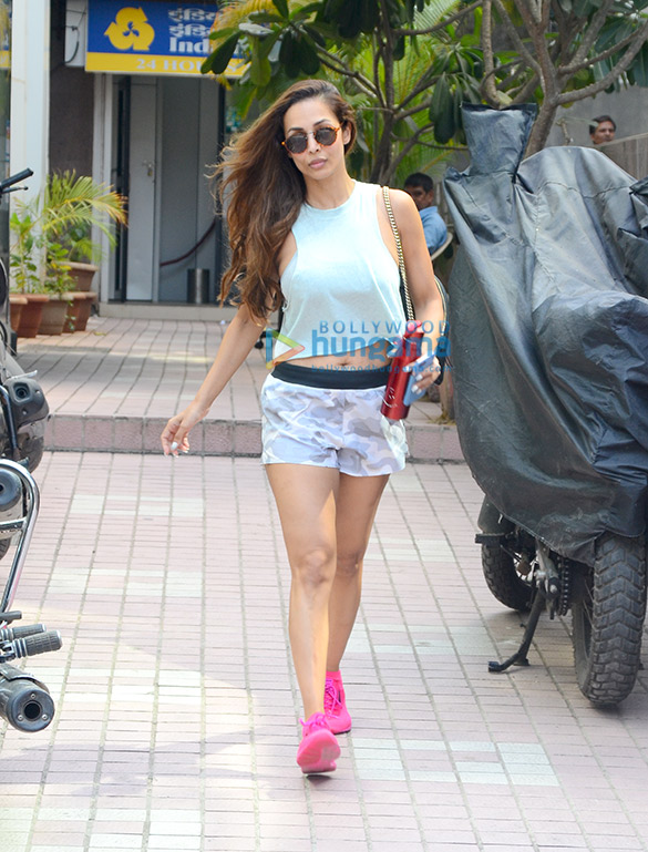 Malaika Arora snapped at the gym