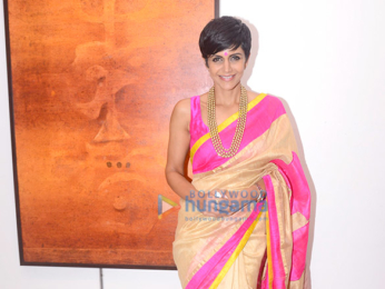 Mandira Bedi inaugurates Ramesh Thorat's painting exhibition