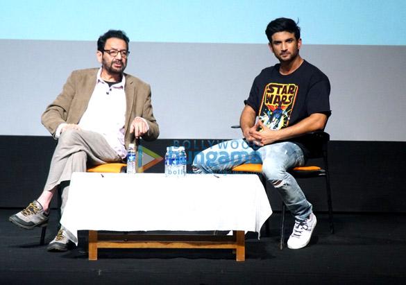Masterclass with Shekhar Kapur & Sushant Singh Rajput at IFFI 2017