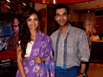 Rajkummar Rao and Patralekha at ALT Balaji's 'Bose DeadAlive'