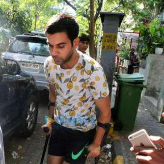 Rajkummar Rao spotted at The Kitchen Garden