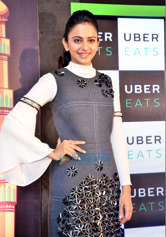 Rakul Preet launches 'Uber Eats' in Hyderabad