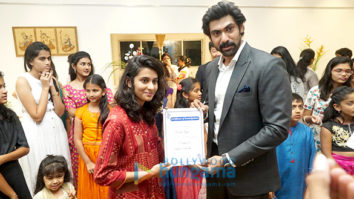 Rana Daggubati attends an event on Children's Day