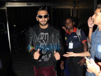 Ranveer Singh off to Hyderabad