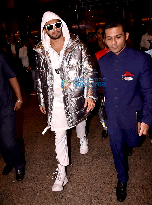 Ranveer Singh and Jacqueline Fernandez snapped at the airport
