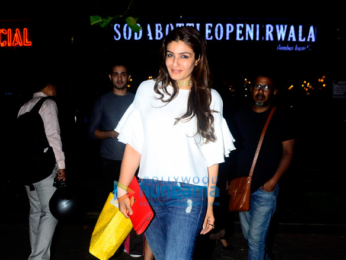 Raveena Tandon and other celebs snapped at 'Kaun Banega Crorepati 9'