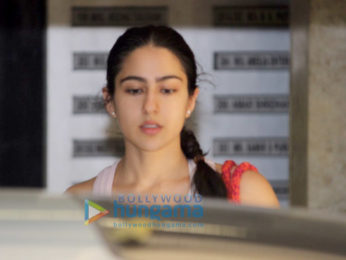 Sara Ali Khan snapped heading for her gym