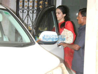 Sara Ali Khan spotted at a gym in Khar