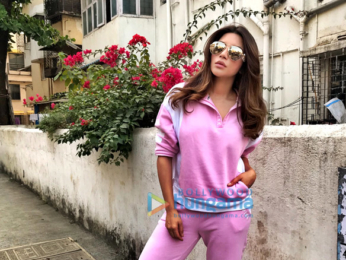 Shama Sikander snapped sporting a gym look