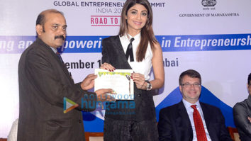Shilpa Shetty attends an event of 'FICCI'