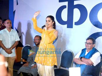 Shraddha Kapoor inaugurates the IFFI Next Gen at Bioscope Village in Goa