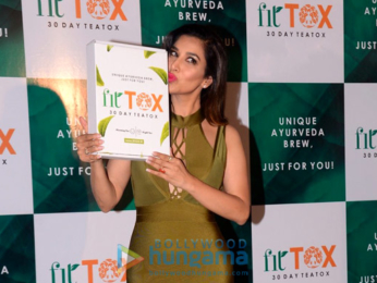 Sophie Choudry launches her own tea brand 'FitTox'