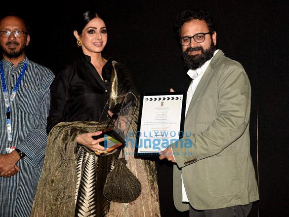 Sridevi inaugurates the Indian Panorama at IFFI 2017 in Goa
