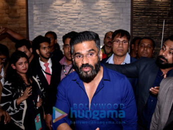 Suniel Shetty attends 'ACE Tech Exhibition 2017'