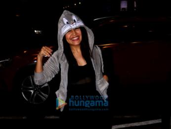 Sunny Leone, Neha Kakkar and Himansh Kohli spotted at the airport