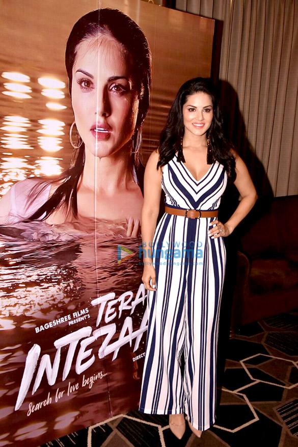 Sunny Leone and Arbaaz Khan promote their film 'Tera Intezaar'