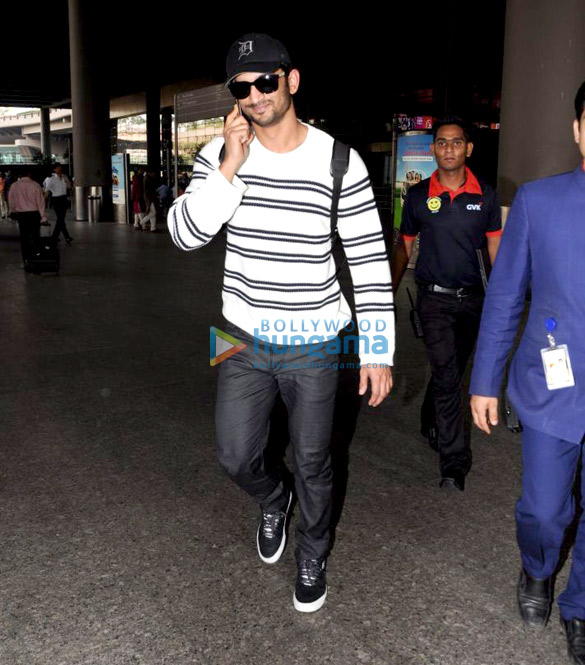 Sushant Singh Rajput, Bhumi Pednekar and others snapped at the airport