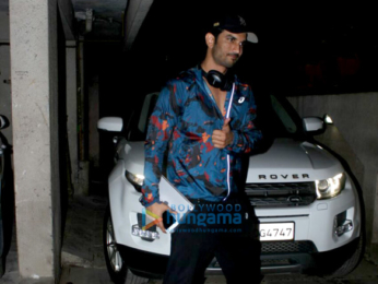 Sushant Singh Rajput snapped at Abhishek Kapoor's Office