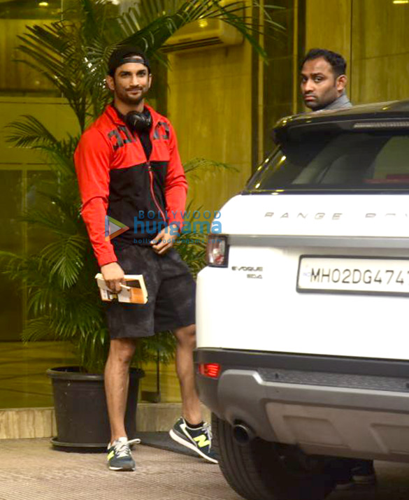 Sushant Singh Rajput snapped post gym session in Bandra