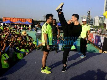 Tiger Shroff attends the 'Sai Celebration 1 Mile Petathon'