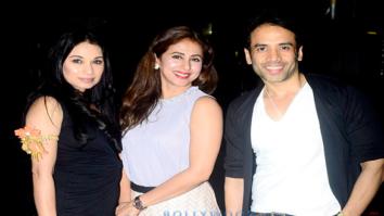 Urmila Matondkar, Sheetal Mafatlal and Tusshar Kapoor snapped at BKC