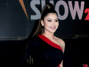 Urvashi Rautela spotted playing basketball at Global Sports Business Show