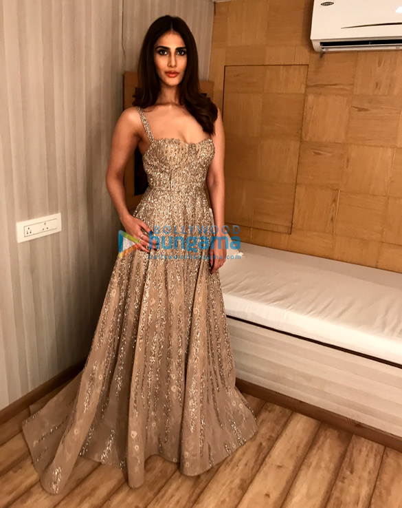 Vaani Kapoor snapped in a Shane Falguni creation styled by Mohit Rai