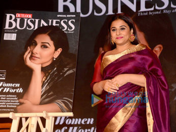 Vidya Balan graces Outlook Business Awards 2017