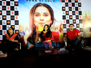 Vidya Balan promotes 'Tumhari Sulu' in Ahmedabad
