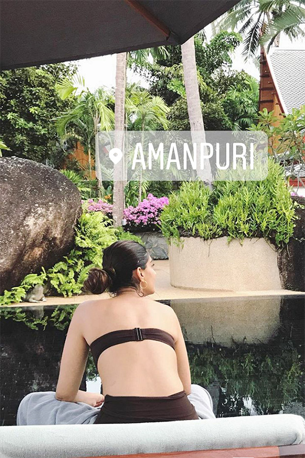 WATCH Sonam Kapoor enjoys some downtime by poolside before shooting for Veere Di Wedding in Phuket (1)