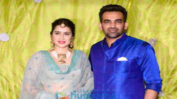 Zaheer Khan and Sagarika Ghatge's mehendi ceremony