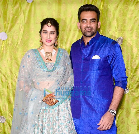 Zaheer Khan and Sagarika Ghatge's mehendi ceremony