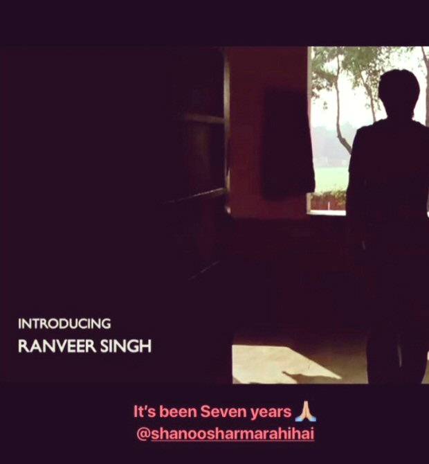 7 Years of Ranveer Singh: Ranveer thanks casting director
