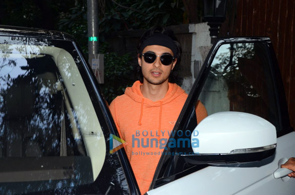 Aayush Sharma spotted at dance rehersals in Bandra