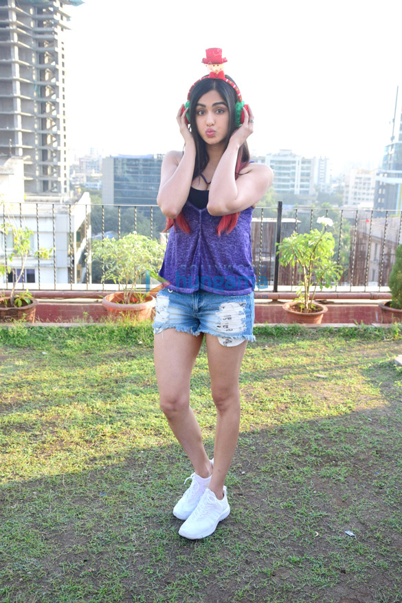 Adah Sharma does a special photoshoot for Christmas
