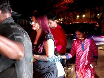 Aishwarya Rai Bachchan snapped at BKC with Aaradhya