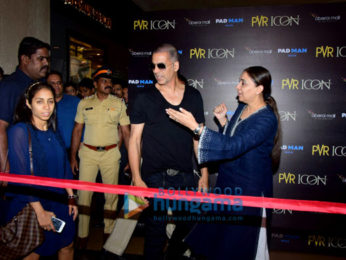 Akshay Kumar inaugurates 'P[XL]' at PVR Oberoi in Goregaon