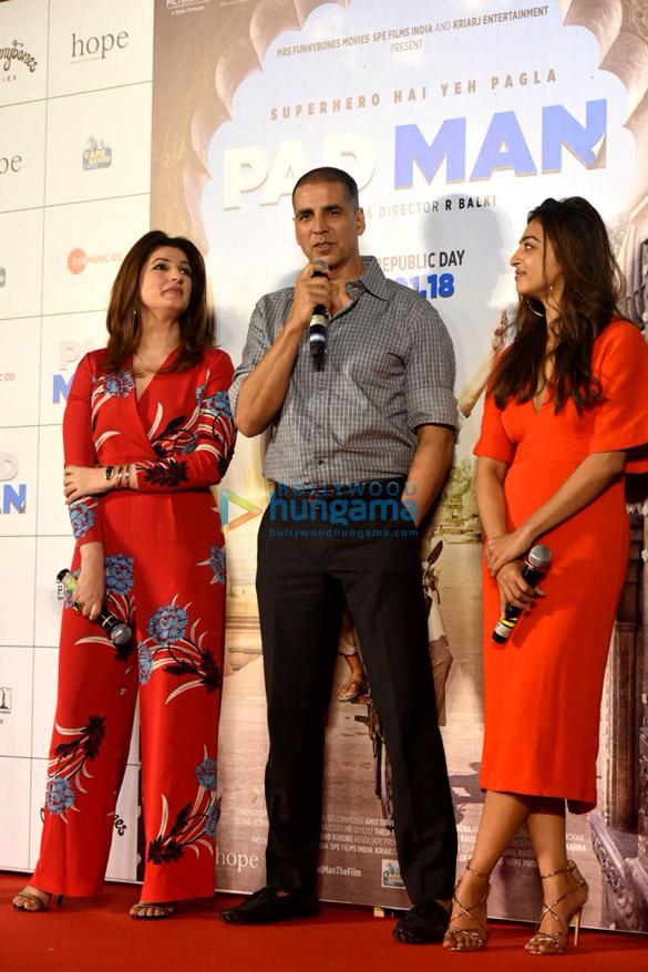 Aaj Se Teri: Akshay Kumar Launches The Song 'Aaj Se Teri' From Pad Man