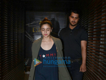 Alia Bhatt snapped at Estelle Juhu