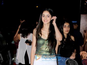 Ananya Panday spotted at Bandra