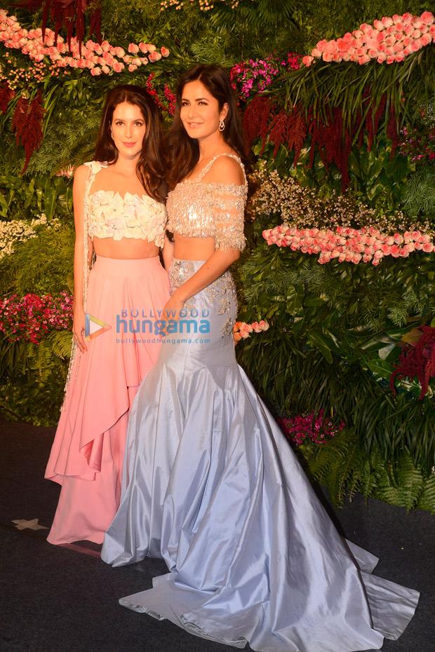 Anushka Sharma - Virat Kohli's wedding reception Priyanka Chopra, Kangaai Bachcha