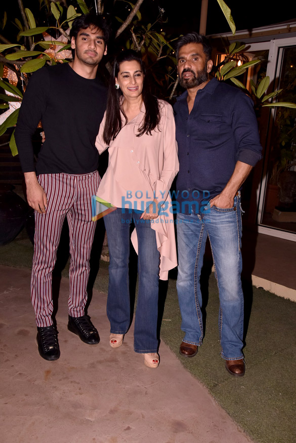 Athiya Shetty spotted at Suniel and Mana Shetty's store R House