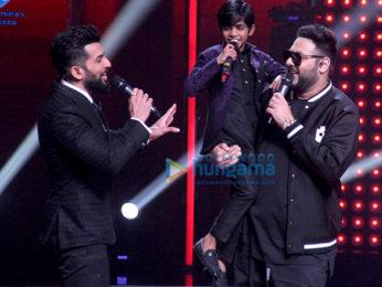Badshah on the sets of 'The Voice India Kids Season 2'