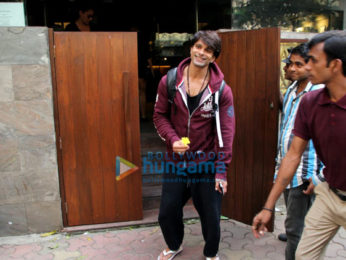 Bipasha Basu and Karan Singh Grover spotted at Indigo