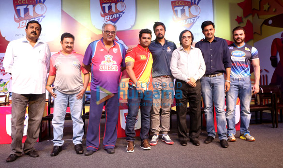 Boney Kapoor, Sohail Khan and others at CCL event