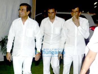 Celebs attend late Neeraj Vora's prayer meet